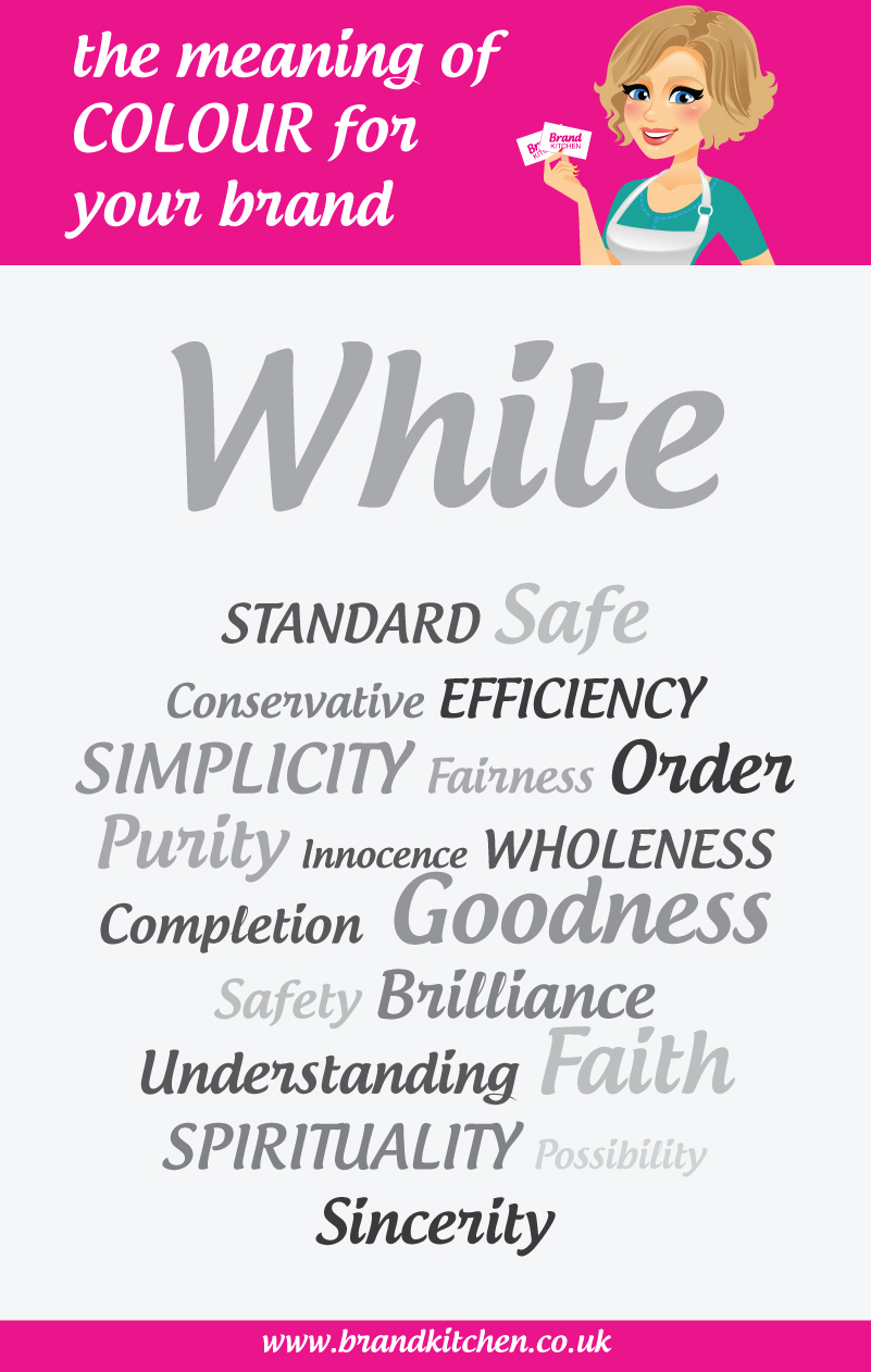 The Meaning Of The Colour White For Your Brand